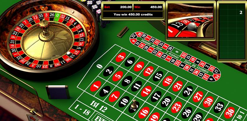 playing roulette one number image
